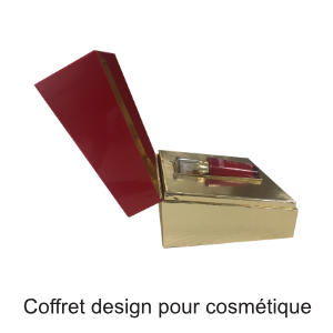 boitier design cosmétique