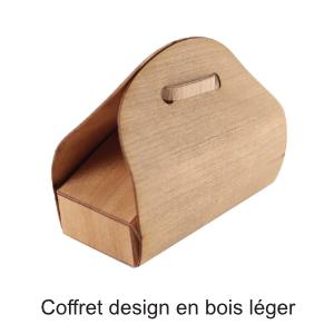 coffret design bois léger